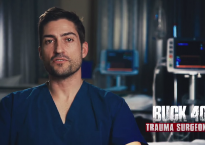 Buck 40 Trauma Surgeon